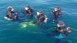 Try dive Easydivers batismo de mergulho